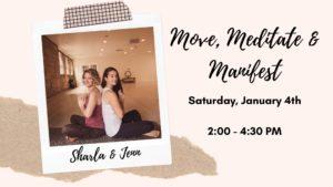 move meditate and manifest, salt lake city, utah, full circle yoga and therapy
